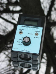 Air ion counters used by paranormal investigators