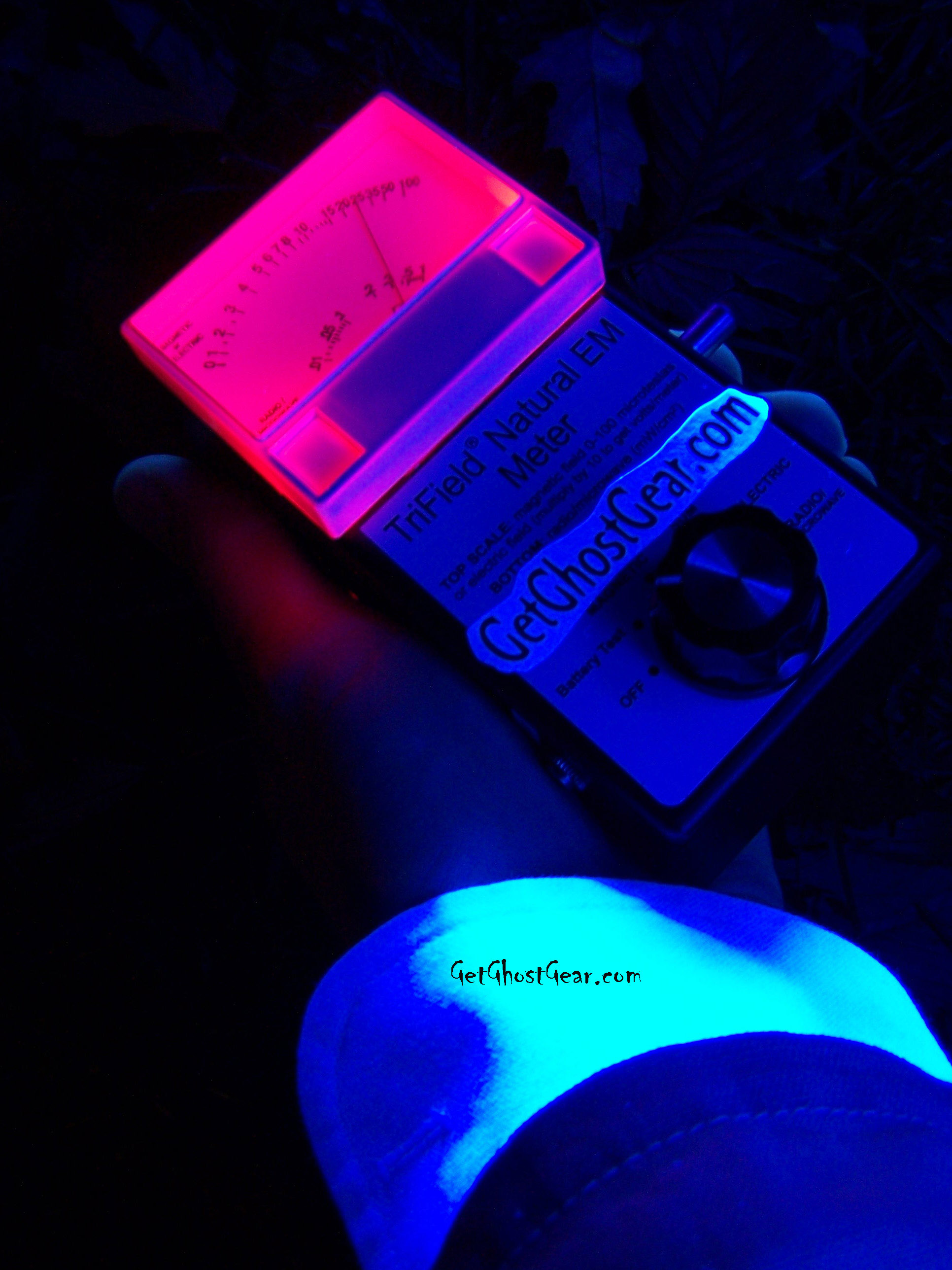 Ultraviolet Lights affecting an EMF meter