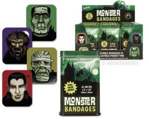 Ghost Hunters Christmas Gift Band Aids Monster Bandages