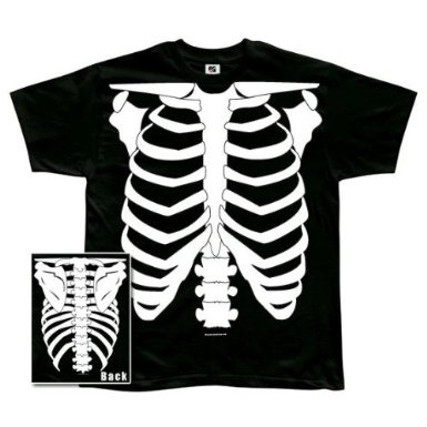 Ghost Hunters Christmas Gift Idea Glow In The Dark Skeleton Shirt