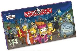 Ghost Hunters Christmas Gift Idea The Simpsons Tree House Of Horror Monopoly Board Game