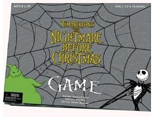 The Nightmare Before Christmas Board Game Christmas 2012 Gift Ideas