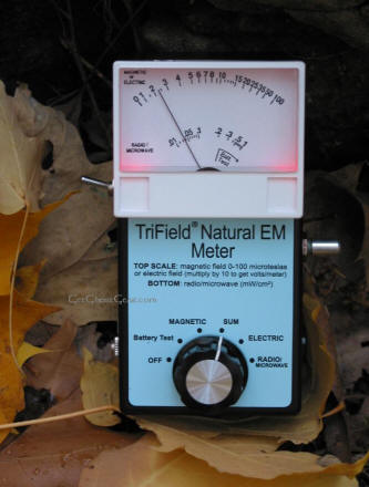 DC EMF meter for ghost hunting
