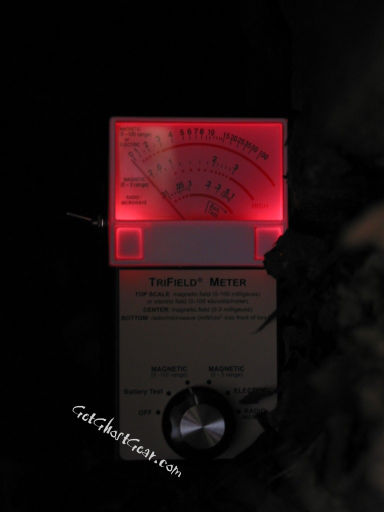 EMF meters are popular tools for ghost hunters