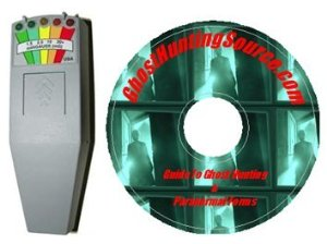 KII Ghost Hunting EMF Ghost Sensor Paranormal CD Manual