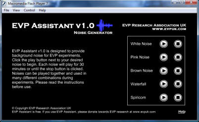 EVP Assistant screenshot and free download