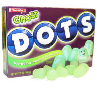 Halloween candy Ghost Dots for sale here year round