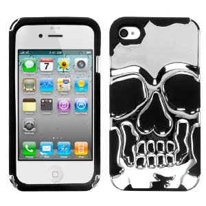 Ghost hunters 3d skull iphone case