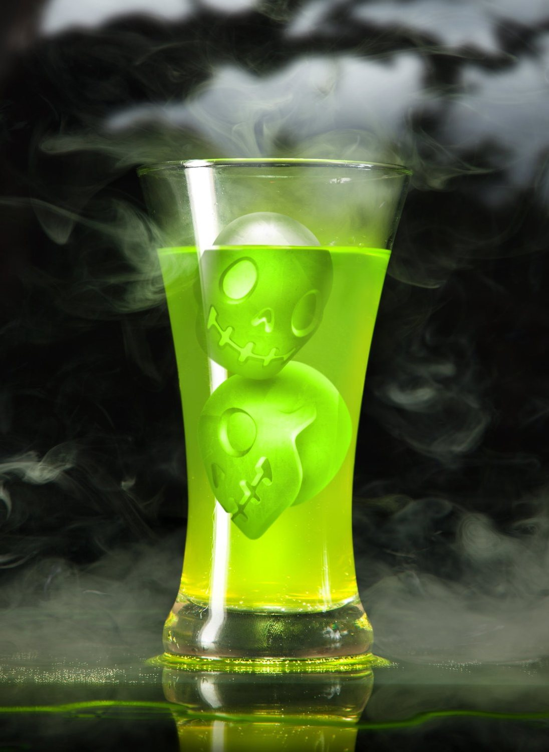 Ghost Hunters skull ice cube maker mold gift idea