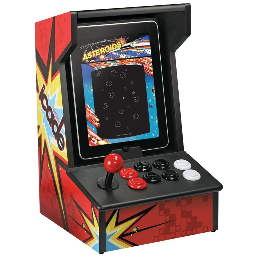 Classic arcade cabinet for Apple Tablets
