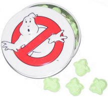 Ghostbusters slimer sours candy and tin gift