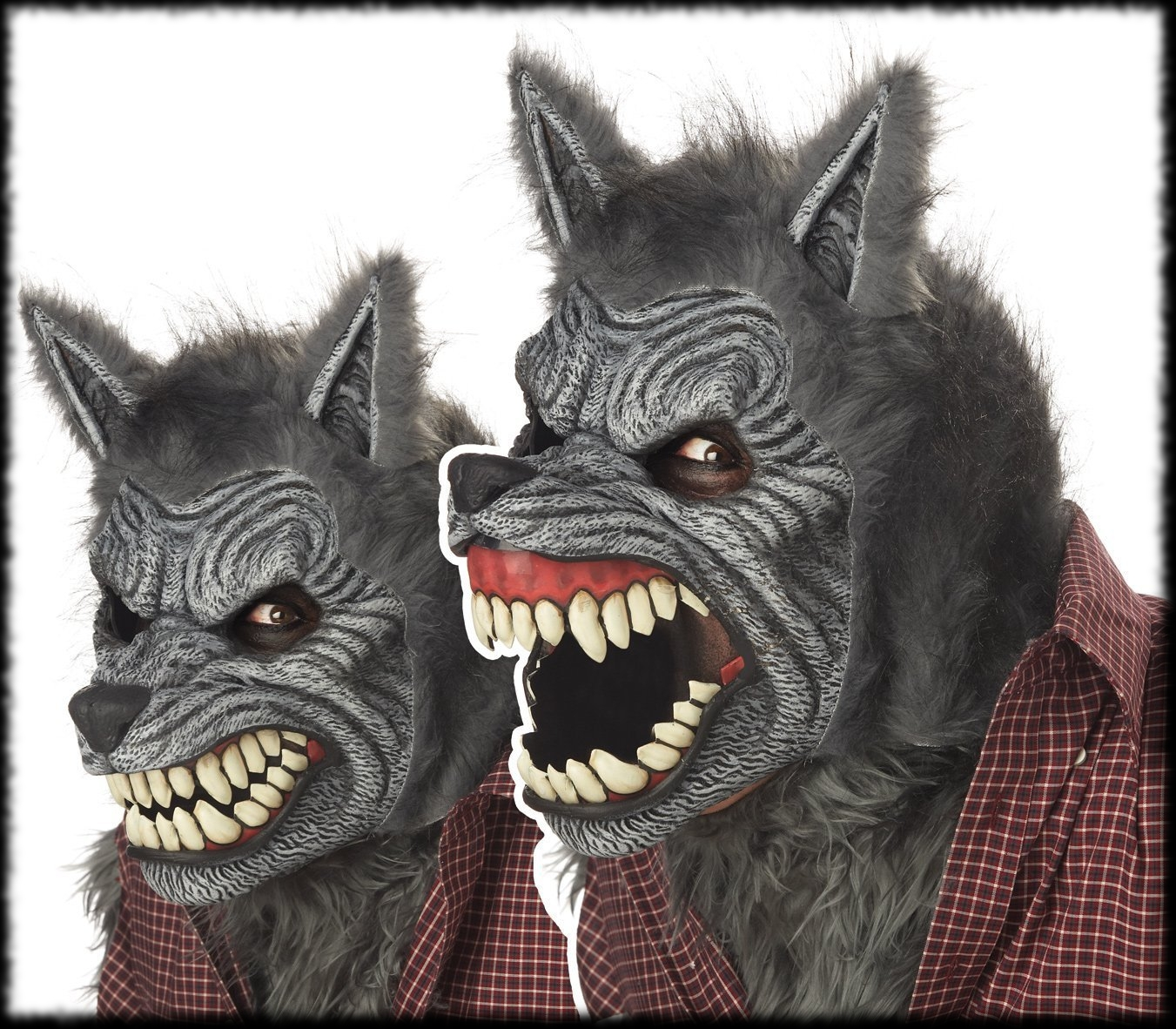 Best Animated Halloween Mask of 2013 Werewolf