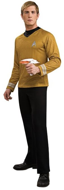 Movie Halloween Costume Star Trek Into Darkness Captain Kirk