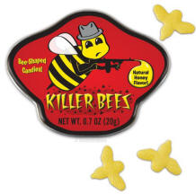 Buy Killer Bees honey flavored candy and tin