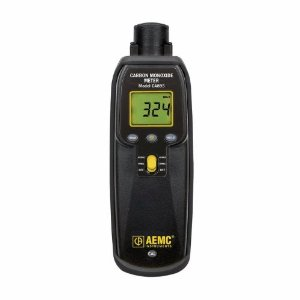 Carbon monoxide meter for ghost hunters