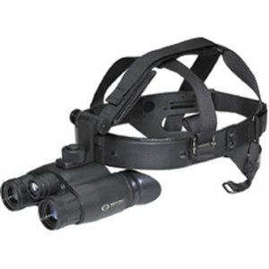 Night vision goggles with helmet/head attachment
