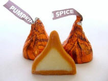 Halloween Pumpkin pie spice Hershey Kisses for sale all year