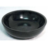 Black bowls used on metaphysical ghost hunts