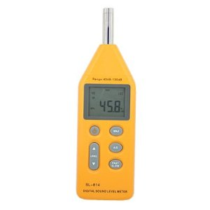 Sound level meter used by ghost hunters