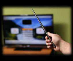 Magic Wand TV Remote Christmas Present