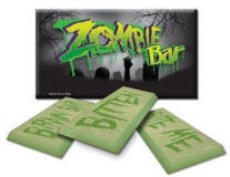 Zombie Chocolate Candy Bar for sale