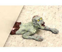 Zombie Door Stop for Christmas