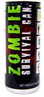 Zombie Survival Can Energy Drink for sale here